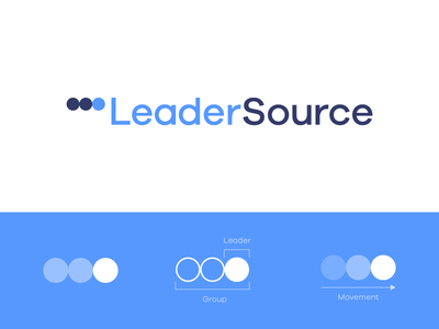 LeaderSource - Approved Logo Redesign church monogram leaders l fold movement arrow faith leader