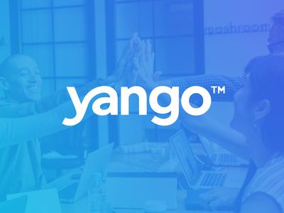 Yango - Life Coach / 2nd Concept smart life coaching coach connect script lettering branding wordmark identity logo yango