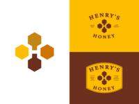 Henry's Honey - Logo Design