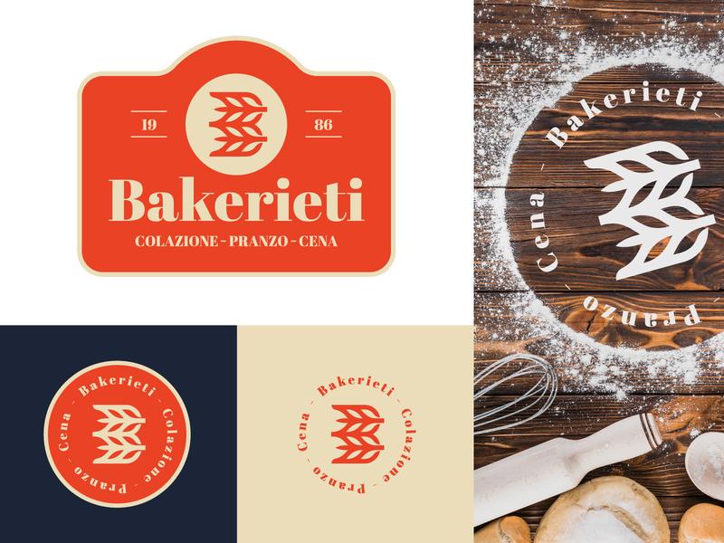 Logofolio - 5th Edition typography lettering abstract monogram identity branding portfolio showcase bar pizza pasta wheat symbol rieti bakery behance project behance branding identity logofolio logo