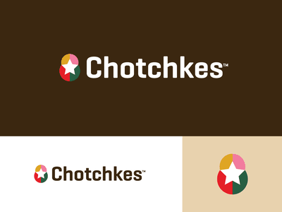 Chotchkes - Logo Design promotion merchandise souvenir star logo design identity design branding design abstract lettering icon mark branding identity logo russia matryoshka russian dolls doll chotchkes