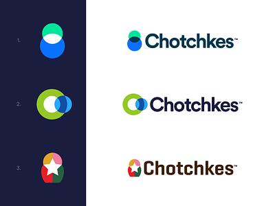 Chotchkes - Logo Proposals venn diagram shop market symbol apperal product promo custom promotion star chart russian matryoshka doll logos branding identity concepts logo chotchkes
