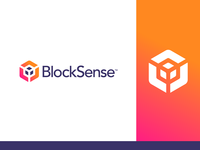 BlockSense Logo Design