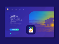 Branding for Den and Ui Mockup