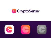 CryptoSense - Logo Design