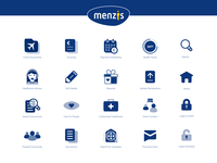 Menzis - icon and illustration design