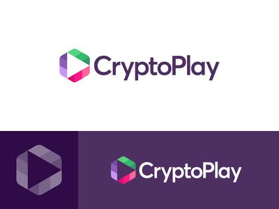 CryptoPlay - Logo Design