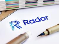 Radar identity - Brushed. abstract branding identity logo design process map consumer dutch netherlands navigate monogram lettering ripple pulse brushed brush sketch grid radar r