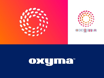 Oxyma - Unused Concept logo lockup lettering monogram o letter o fuel morocco gas station station gas oxygen logo design identity branding logo oxyma