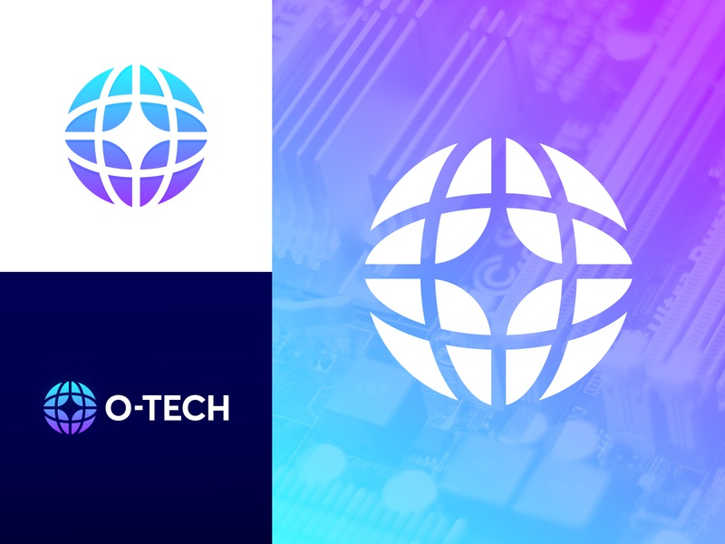 O-Tech - Logo Design monogram design monogram data digital roads infrastructure globe logo mark logomark wordmark o-tech icon design icon branding design branding identity design logo logo design tech o