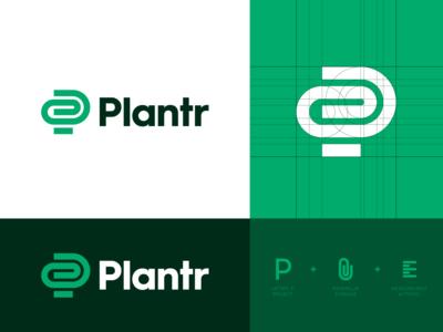 Plantr - Logo Concept 1