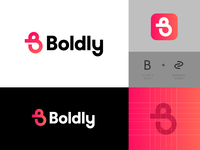 Boldly - Logo Design