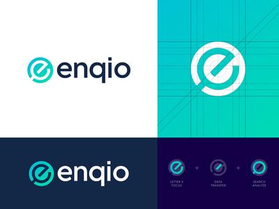 Enqio - Logo Design