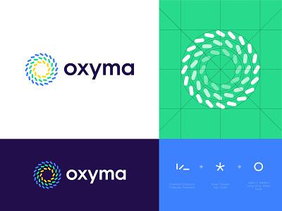 Oxyma - Visual Identity identity logo monogram branding symbol abstract icon subbrand logo design gas station fuel oil morocco moroccan africa omax max performance car dispenser