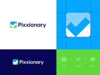 Pixxionary - Logo Design 🖼️