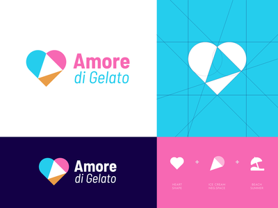 Amore di Gelato - Logo Re-Design 🍦🇮🇹