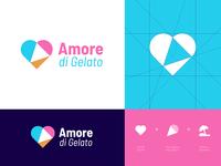 Amore di Gelato - Logo Re-Design 🍦🇮🇹