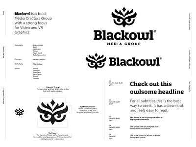 Logo Design - Blackowl 🦉 creative logo design crystal eyebrows flames vr visuals crown bold design animal mark illustration identity design identity branding owl mark logo logo design media group black owl black owl