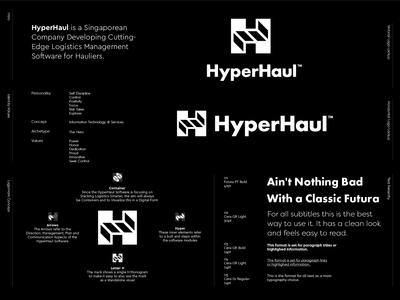 HyperHaul - Logo Option 4