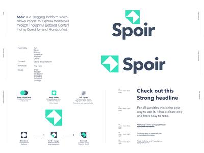 Spoir - Logo Design ✍🏻