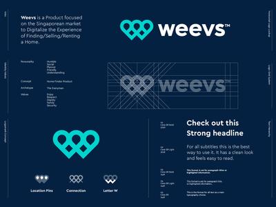 Weevs - Logo Design