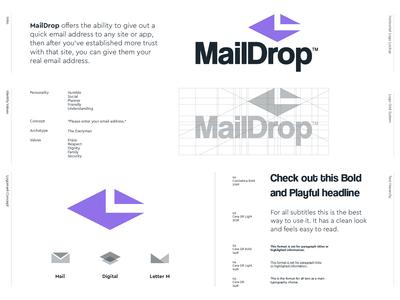 MailDrop - Logo Redesign 📨
