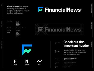 FinancialNews - Logo Design 📈