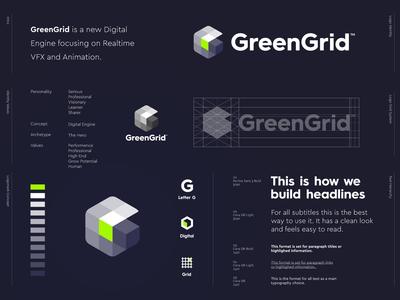 GreenGrid - Logo Design 🔋
