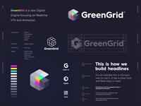 GreenGrid - Logo Design 🌈