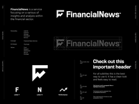 FinancialNews - Logo Design 📈