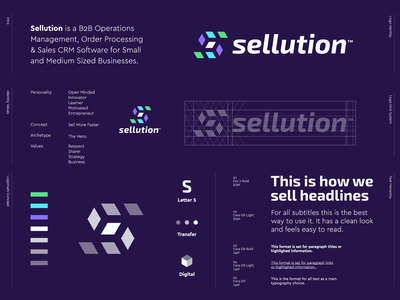 Sellution - Logo Design 📊