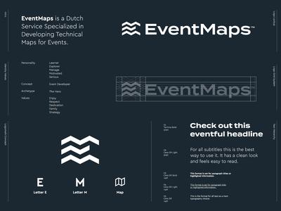 EventMaps - Logo Design 🗺️
