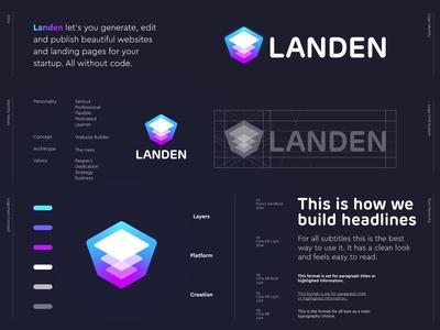 Landen - Logo Design 🏗️