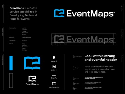 EventMaps - Logo Design v3 🗺️
