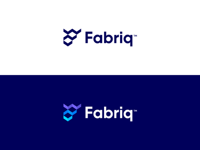 Fabriq - Logo Design 📶 logo design logo negative space logo f monogram users connect interact students student alumni education grow steps stairs platform digital platform social fabriq fabric