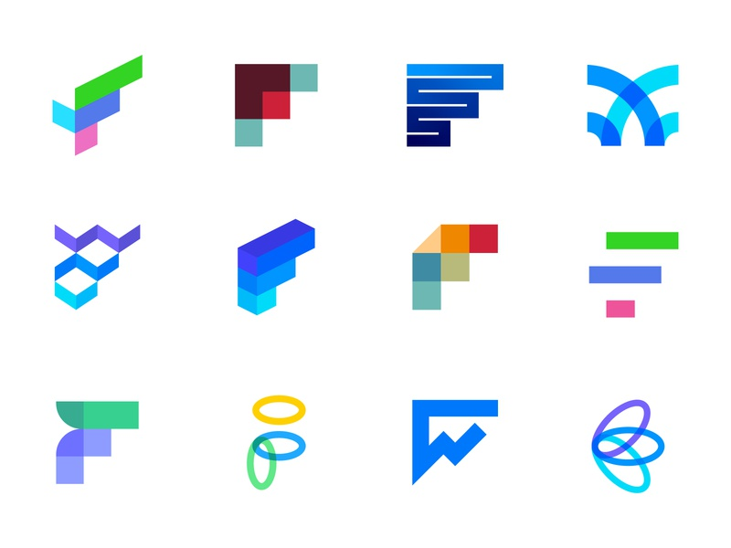 Logofolio - F Lettermarks