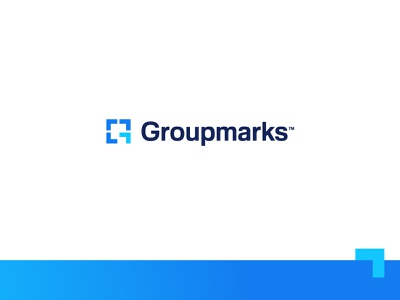 Groupmarks - Logo Design ↗️ group marks extension team engage arrow g logo storytelling brand identity logo design symbol grid letter lettering icon mark monogram branding identity logo