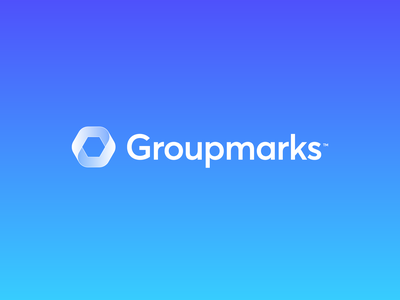 Groupmarks - Visual Identity 🔄 bookmark identity work manage managment team engagement engage record screen capture icon design branding brand logo design logo groupmarks marks mark group