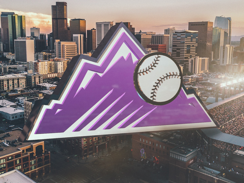 5,280 cinema4d c4d logo sports baseball mlb rockies denver colorado