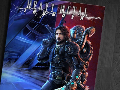 Book cover   heavy metal thunder