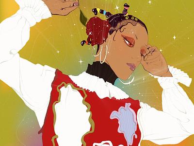 Lilith adobe illustrator digital art digital painting illustration illustrator