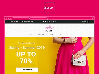 XSHOP - Fashion Apparel Shop women apparel fashion ecommerce themeforest wordpress woocommerce