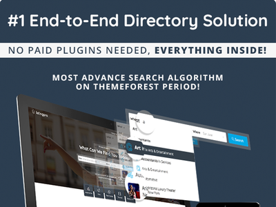 [Watch Video] - ListingPro End-to-End Directory Solution -  foursquare yelp envato themeforest solution theme listing directory