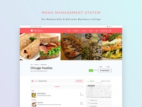 ListingPro  2.0: Menu Management System (MMS)