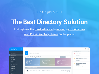 The Best Directory Solution template envato listingpro directory wordpress themeforest theme