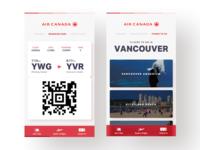 Air Canada - App Concept