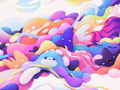 OPPO design concept concept design abstract illustration zutto