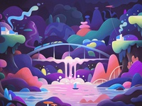 Animation loop for Chillhop Record loop design abstract animation concept cartoon illustration zutto