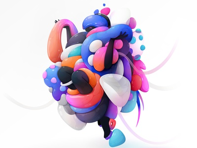 Trash Beauty nft superrare design concept cartoon character vector abstract illustration zutto