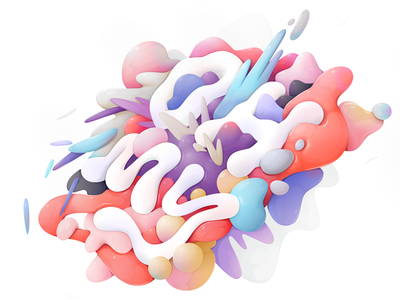 Oh My typography lettering abstract vector illustration zutto